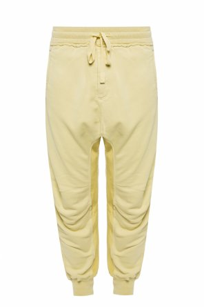 Raw-trimmed sweatpants od Haider Ackermann